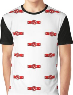 FR-S Pistons GT 86 Red Graphic T-Shirt