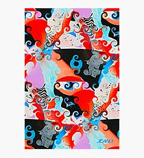 SQUIGGLY GRAPHIC Photographic Print