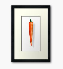Hot & Spicy Framed Print
