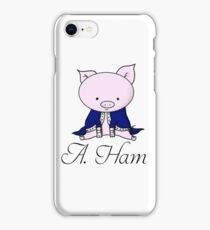 Alexander Ham-ilton iPhone Case/Skin