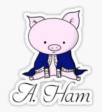 Alexander Ham-ilton Sticker