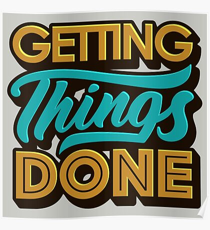 Getting Things Done2 Poster