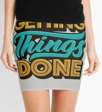 Getting Things Done2 Mini Skirt
