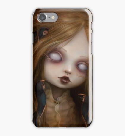 The face of all your fears iPhone Case/Skin