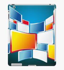 Abstract Windows Digital Vector art iPad Case/Skin