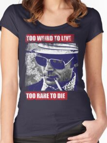 Gonzo Hunter S Thompson Women's Fitted Scoop T-Shirt