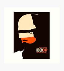 Robo Cop  Art Print