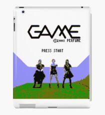Perfume Game NES Start Screen iPad Case/Skin