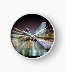 Warp City 6 Clock