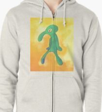 High Res Bold and Brash Repaint Zipped Hoodie