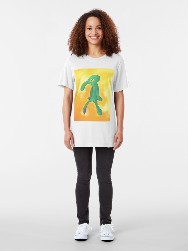 Alternate view of High Res Bold and Brash Repaint Slim Fit T-Shirt