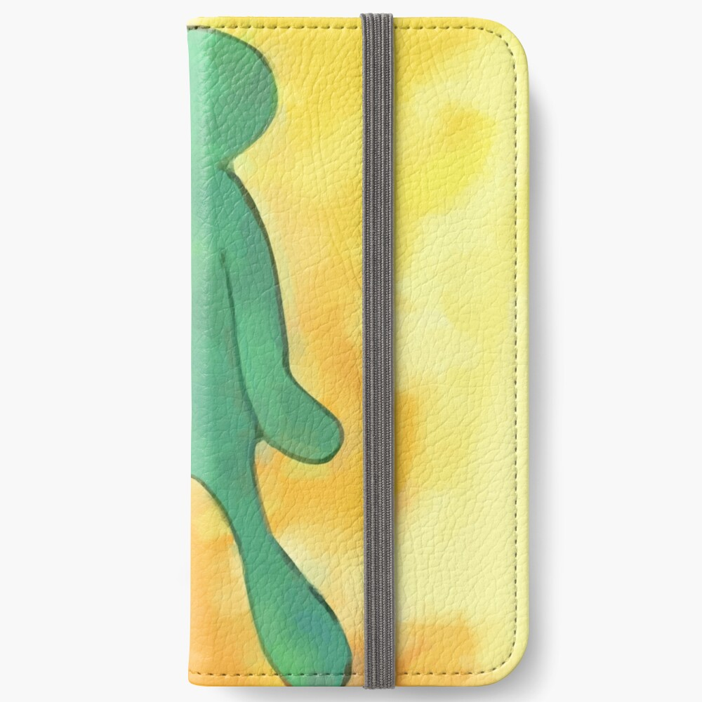 High Res Bold and Brash Repaint iPhone Wallet