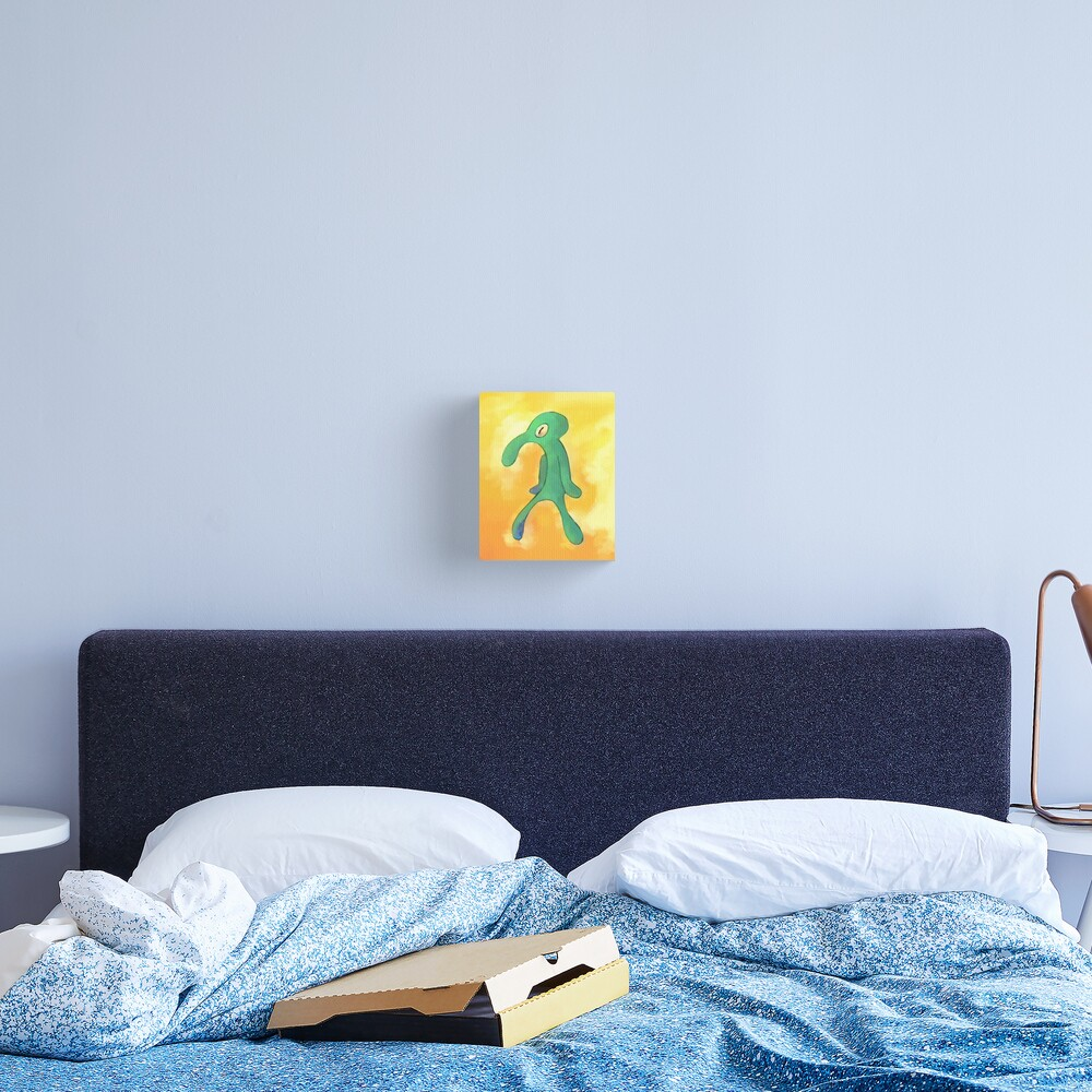 High Res Bold and Brash Repaint Canvas Print