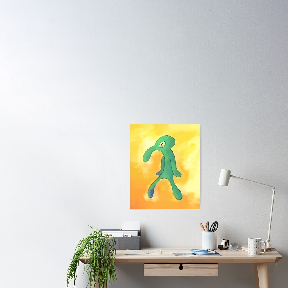 High Res Bold and Brash Repaint Poster