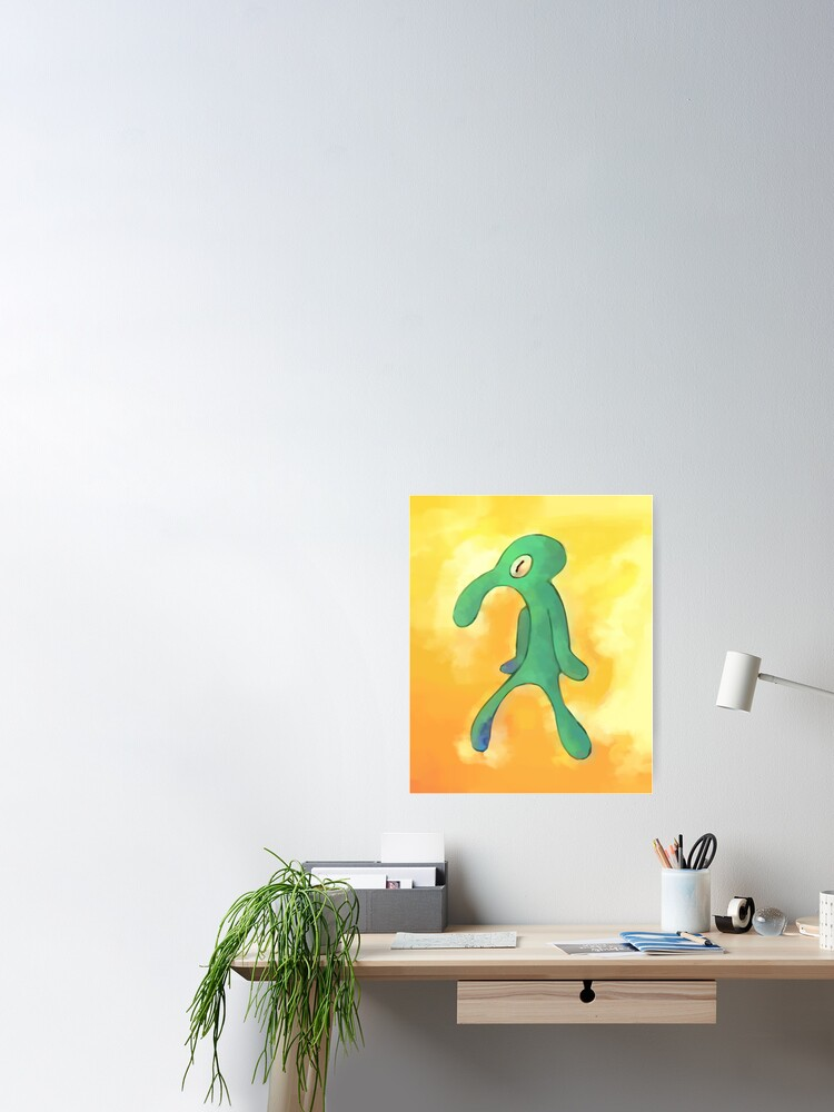 Alternate view of High Res Bold and Brash Repaint Poster