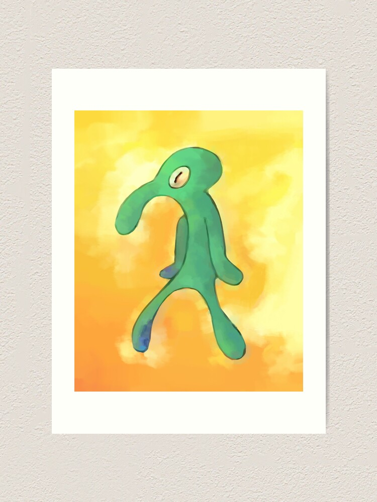 Alternate view of High Res Bold and Brash Repaint Art Print