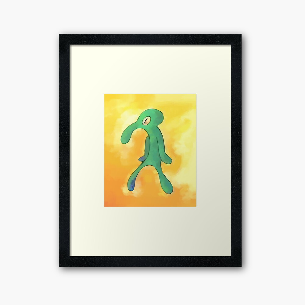 High Res Bold and Brash Repaint Framed Art Print