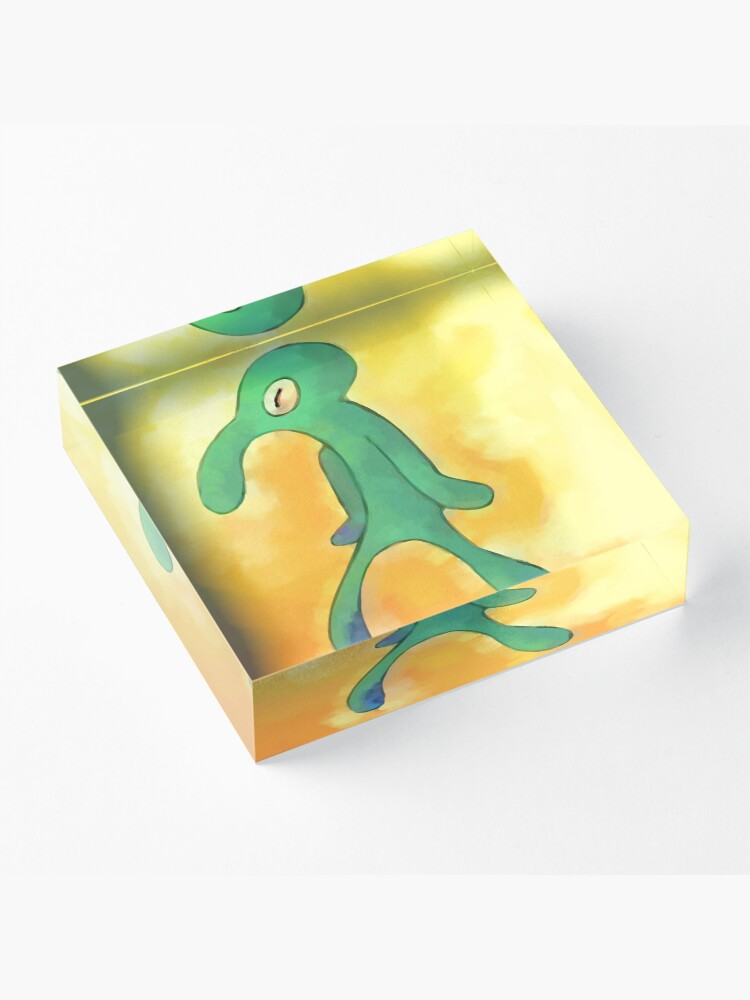 Alternate view of High Res Bold and Brash Repaint Acrylic Block