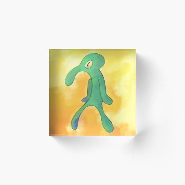 High Res Bold and Brash Repaint Acrylic Block