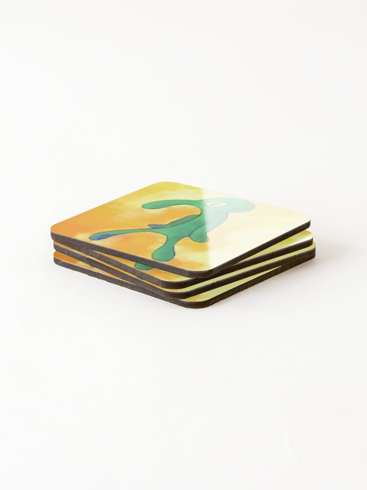 Alternate view of High Res Bold and Brash Repaint Coasters (Set of 4)