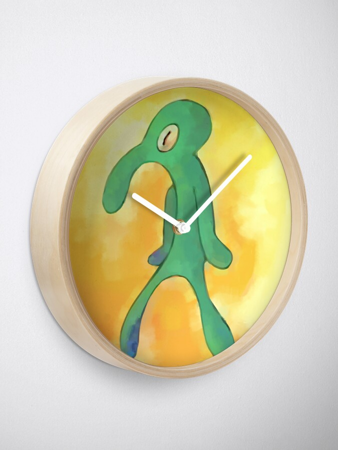 Alternate view of High Res Bold and Brash Repaint Clock