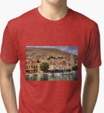 Nimborio Waterfront Tri-blend T-Shirt
