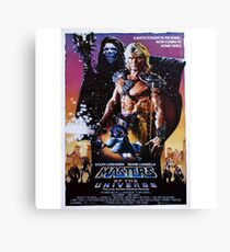 Masters of the Universe Canvas Print