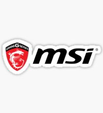 MSI Logo Sticker