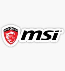 MSI Logo Sticker