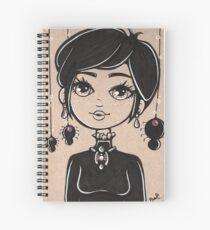 """Simple Elegance"" Spiral Notebook"