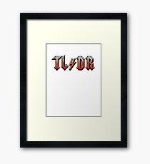 Too long : didn't read Framed Print