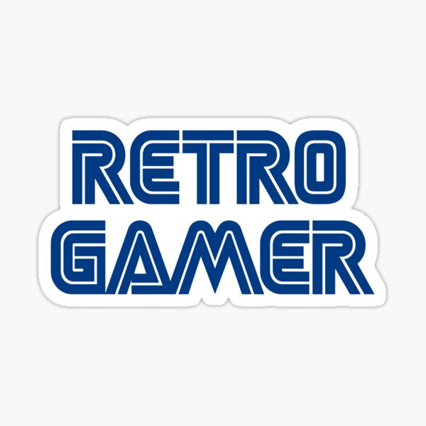 Retro Gamer Sticker