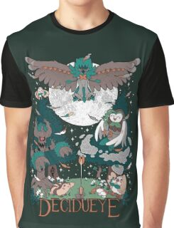 Starter's family: Decidueye Graphic T-Shirt