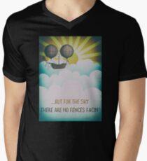Bob Dylan Fantasy Graphic Music Lyrics Design  Mens V-Neck T-Shirt