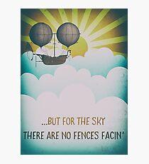 Bob Dylan Fantasy Graphic Music Lyrics Design  Photographic Print