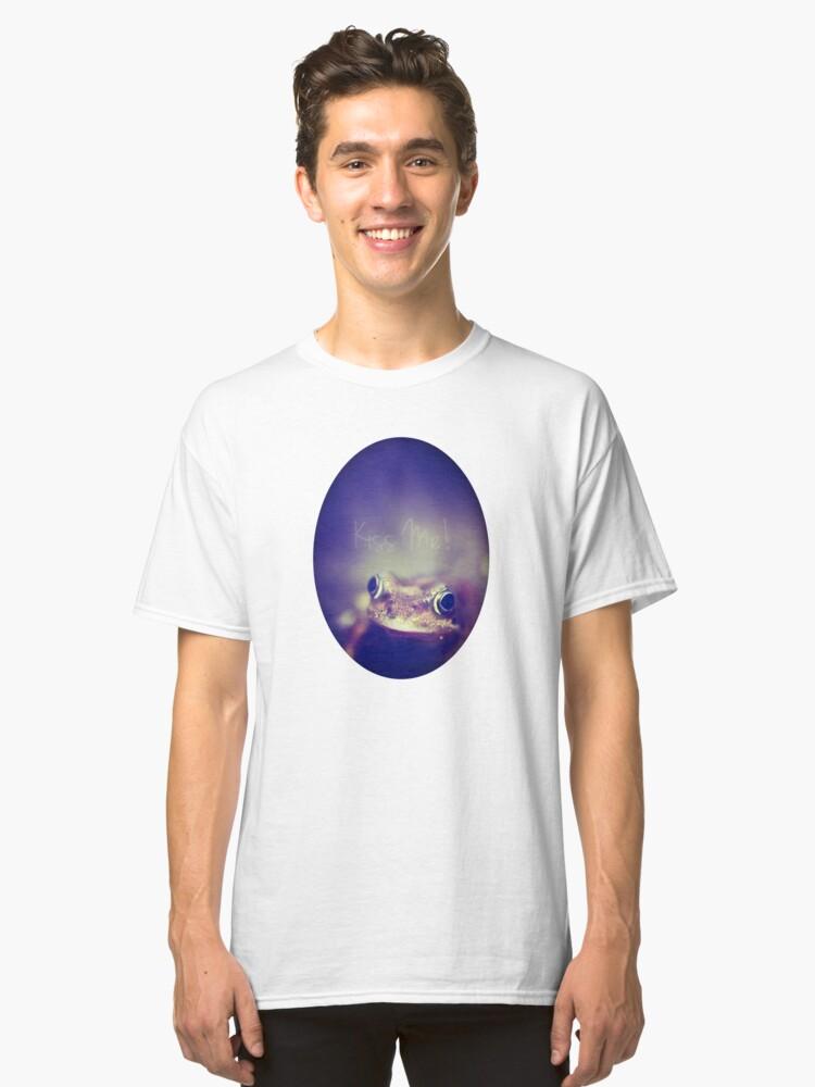 Alternate view of Kiss Me Classic T-Shirt