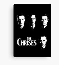 The Chrises Canvas Print
