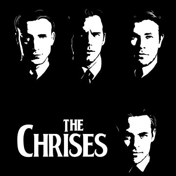 The Chrises by SallySparrowFTW