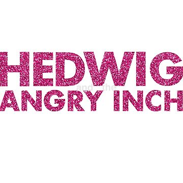 HEDWIG GLITTER - PINK by mcompton