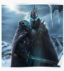 The Lich King in Northrend Poster
