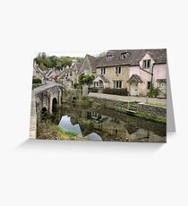 Castle Combe ( 3 ) Greeting Card
