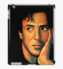 Sylvester Stallone Painting iPad Case/Skin