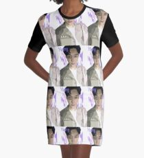 wpap Yixing Graphic T-Shirt Dress