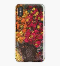 Two Tone Flower Abstraction iPhone Case