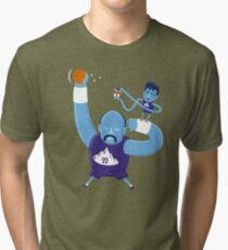 Stockton to Malone Tri-blend T-Shirt