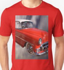 Red Classic Car From The 50s 60s T-Shirt
