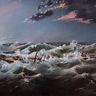 The Admella wreck, Cape Banks, 6th August, 1859. by Gavin Kerslake