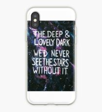 Deep and Lovely Dark iPhone Case