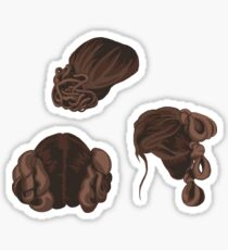 Galatic Heroine Hairstyles Sticker