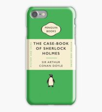 Penguin Classics The Case-Book of Sherlock Holmes iPhone Case/Skin